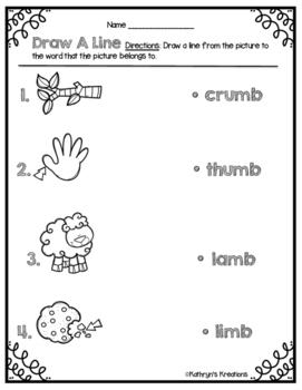 MB Word Work Activities