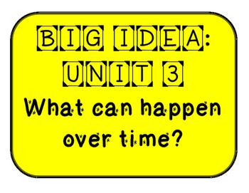 Mc Graw-Hill WONDERS Grade 1 Unit 3 Bulletin Board Set
