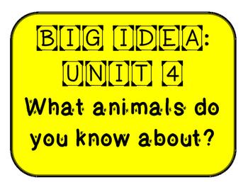Mc Graw-Hill WONDERS Grade 1 Unit 4 Bulletin Board Set