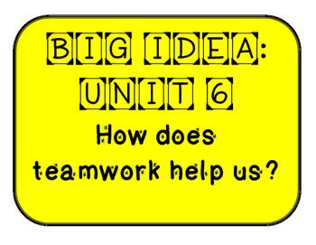 WONDERS Grade 1 Unit 6 Bulletin Board Set
