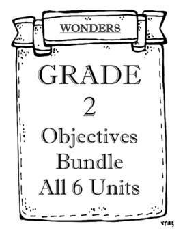 WONDERS Grade 2 Objectives Bundle
