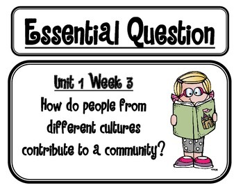 Mc Graw-Hill WONDERS Grade 3 Essential Questions