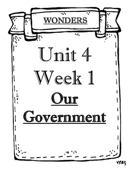 Mc Graw-Hill WONDERS Grade 4 Unit 4 Objectives Weeks 1 to 5