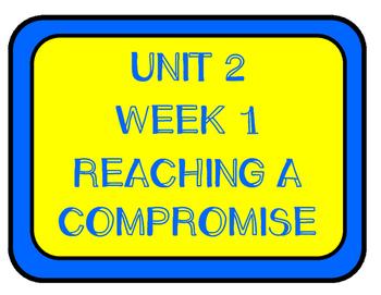 WONDERS Grade 5 Unit 2 Bulletin Board Set
