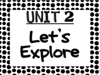 WONDERS Kindergarten Unit 2 Bulletin Board Set