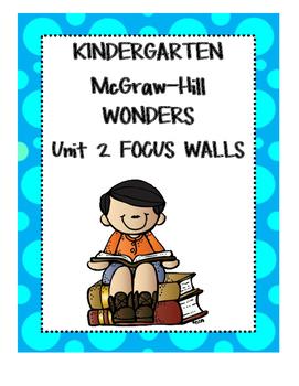 WONDERS Kindergarten Unit 2 Focus Walls