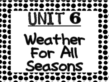 WONDERS Kindergarten Unit 6 Bulletin Board Set
