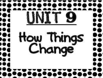 WONDERS Kindergarten Unit 9 Bulletin Board Set