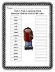 Mc Graw-Hill Wonders Grade 3 Unit 4 Spelling Practice