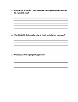 Mc Higgin's the Great Chapter 7-9 Quiz