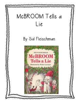 McBroom Tells a Lie Guided Reading packet
