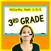McCarthy Math 1-5-5 - 3rd Grade - Membership for 1 YEAR!