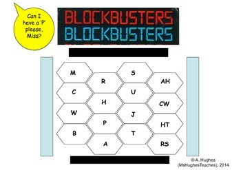 McCarthy and the Red Scare Blockbusters game