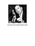 McCarthyism, Anti-Communist Frenzy in Fifties Activity
