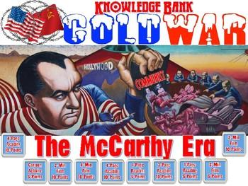 McCarthyism (Joe McCarthy & the 1950's Red Scare) Digital Knowledge Bank