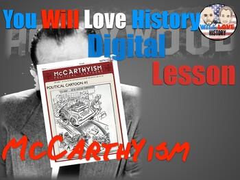 McCarthyism in Political Cartoons Digital Activity