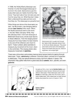 McDonald Observatory/El Observatorio McDonald