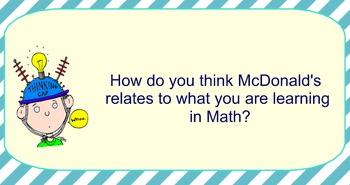 McDonald's Decimal Problem