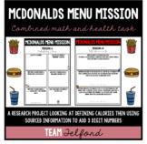McDonald's Menu Mission
