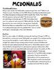 McDonald's NF TEI Passage Practice SCOOT