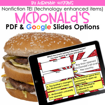 McDonald's NF TEI Practice (Google Classroom & PDF) Distance Learning