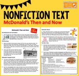 Nonfiction Passage with Comprehension and TEI Questions: M