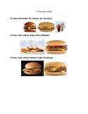 McDonalds Menu Money Math