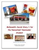 McDonald's Social Story 1