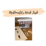 McDonalds Work Task