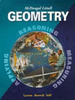 McDougal Littell Geometry ch 3,4,5 power point lessons.
