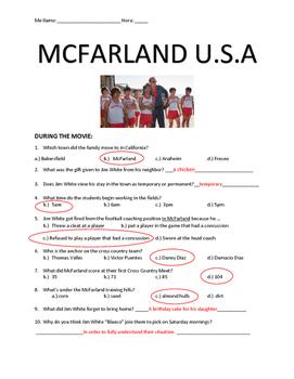 McFarland Movie Guide