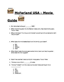 McFarland USA - Movie Guide