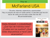 McFarland USA - Movie Lesson Plan
