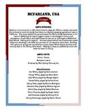McFarland USA Movie Packet