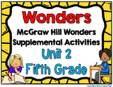 McGraw Hill Wonders 5th Grade Unit 2 Activities