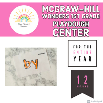 McGraw-Hill 1st Grade Wonders Playdough Center