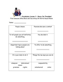 McGraw Hill 2nd Grade Wonders Vocabulary Activities unit 5