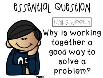 McGraw Hill 3rd grade Unit 2 Essential Questions