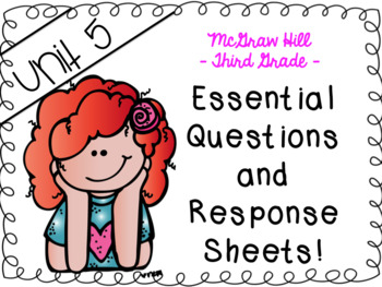 Wonders 3rd grade Unit 5 essential questions