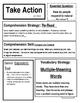 McGraw Hill 4th Grade Reading Wonders Focus Wall Chart Unit 1 BUNDLE