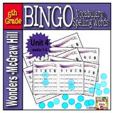 McGraw-Hill   5th Grade   WONDERS  Bingo UNIT 4 (weeks 1-5)
