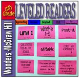 McGraw-Hill 5th Grade Wonders Post-its Unit 1