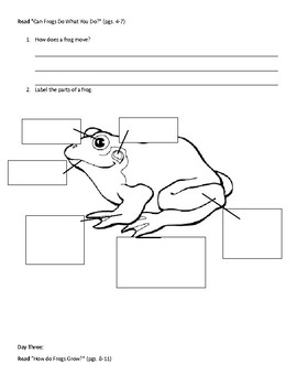 McGraw-Hill: A Frog Grows and Changes