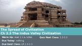Ch 2.3 The Indus Valley Civilization - Spread of Civilizat