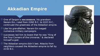 Ch 3.1 Akkad & Babylon - Early Empires Ancient Near East -McGraw Hill