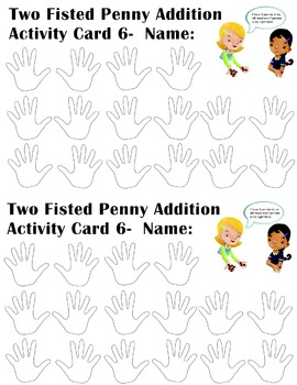 McGraw Hill Everyday Math 4 Two Fisted Penny Addition Lesson 1-6