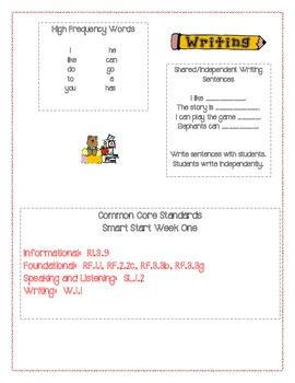 McGraw Hill First Grade Mini Focus Walls Smart Start