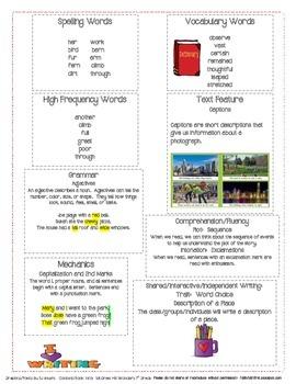 McGraw Hill First Grade Mini Focus Walls Unit 5 Weeks 1-3