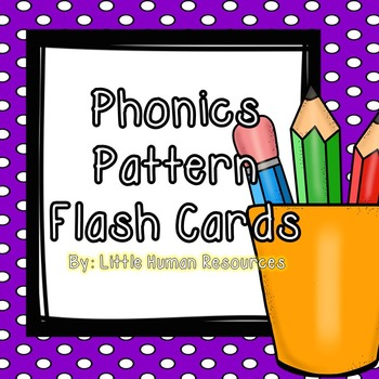 McGraw Hill Flash Cards Phonics Pattern