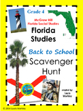 Social Studies Textbook Scavenger Hunt Grade 4